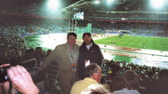 Athletics Finals at Sydney Olympics, Sept 2000.