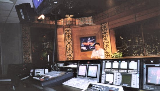 CBS Studios, Rockerfeller Plaza, New York.         Media training/presentation course. April 2003.
