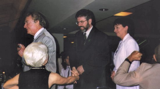 Favorite photo taken by John of Mr. Gerry Adams Leader of the Sein Fein Party & Member of Parliament.