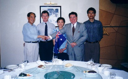 Australian Delegation Presentation, Hetei, Central China