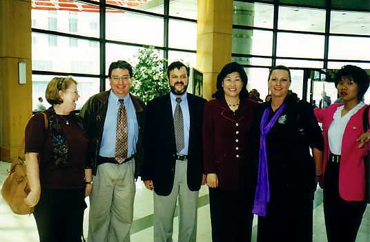 John with Australian Legal Delegation and Deputy Mayor of Tsingtao, November 1999