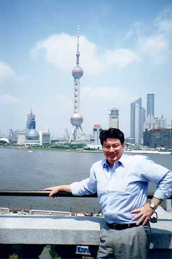 John Boyle on recent business trip to Shanghai (The view from the top of that tower is extraordinary)