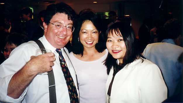 John with Members of the Chinatown Special Branch of the Liberal Party